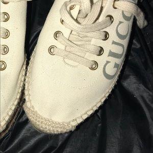 Gucci Shoes - GUCCI Logo platform espadrilles